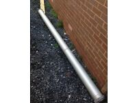 Large heavy duty pipe tube