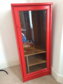 IKEA small cupboard for sale - RED