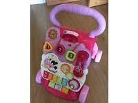 Vtech pink walker