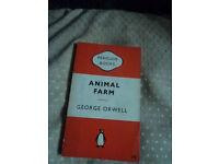 Vintage book Animal Farm George Orwell