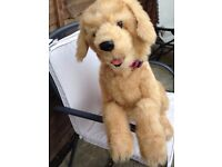 Hasbro Fur Real Friends Biscuit the Dog My Lovin Pup Golden Retriever Interactive Toy