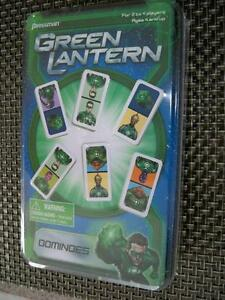 DOMINOE SET-GREEN LANTERN-NEW