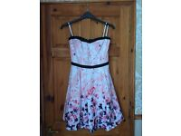 F&F strapless dress, New without tags size 12. £10 ono Great for a summer wedding.