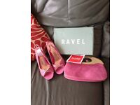 Matching designer handbags and shoes