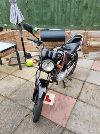 Yamaha YBR 125cc, 13 Plate, Low millage