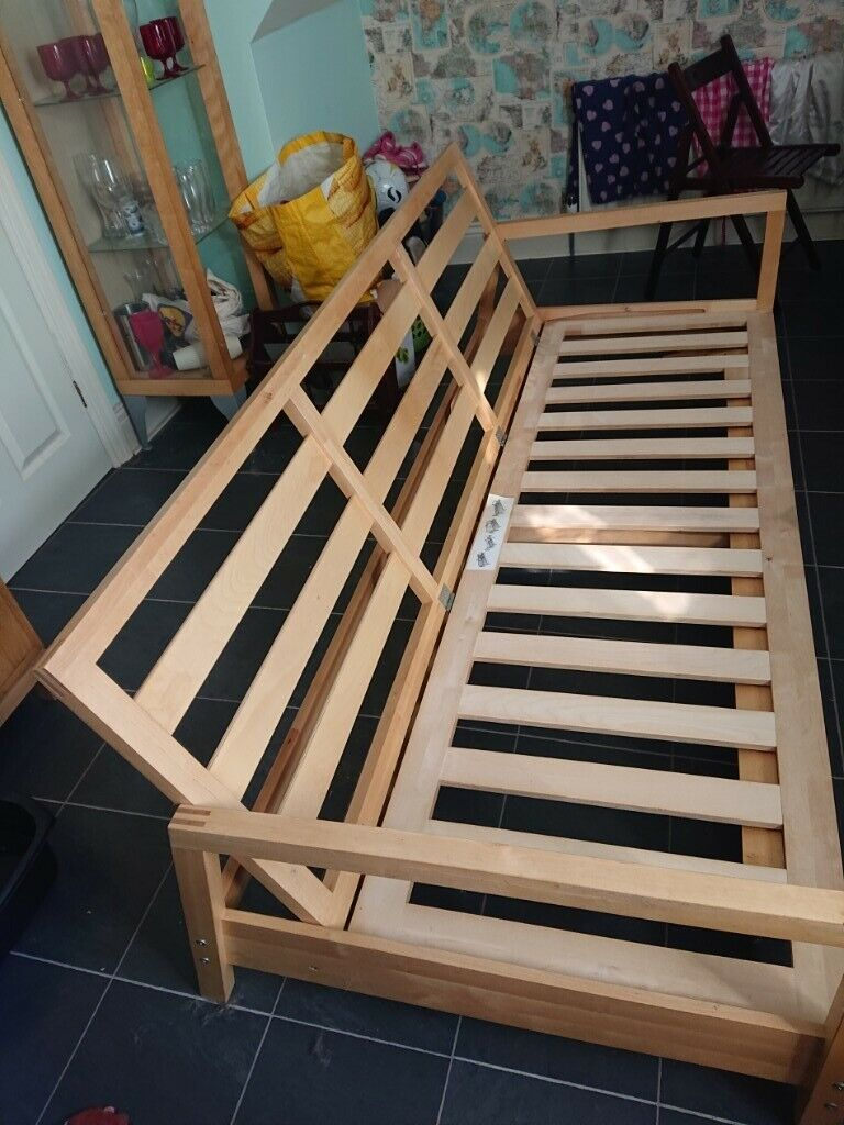 Ikea Wooden Sofa Bed Frame For In Rowlands Gill Tyne And Wear Gumtree