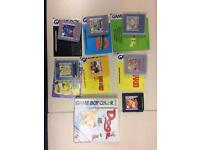 Various Gameboy / Gameboy Colour games