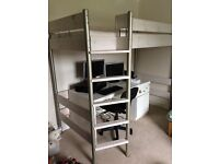 SUPER CABIN STYLE HIGH SINGLE BUNK BED