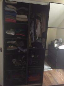 Ikea slidindg door wardrobe