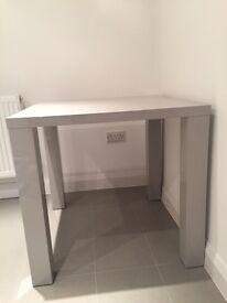 Grey Gloss Kitchen Table