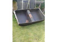flat bottom boat 8ftx4ft