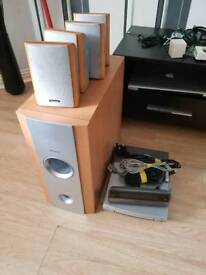 Pioneer Cd/Dvd surround sound system with Sub
