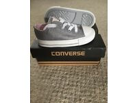 Converse infant size 7 pumps/shoe/trainers new with box
