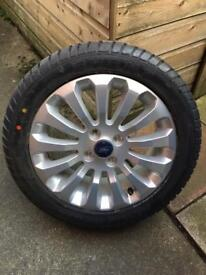 Ford Ka Alloy Wheel 16 in brand new tyre