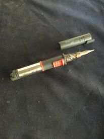 Snap on soldering iron butane gas