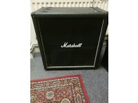 2x Marshall cabs MG series