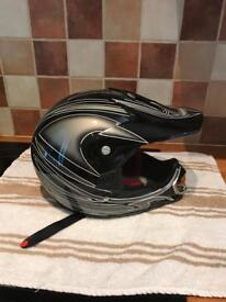 Child's motorbike helmet