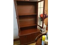 Glass cupboard. Excellent condition.