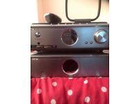 Hitachi AX-M69 Hi-Fi System with remote no speakers