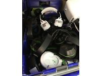 Big Joblot Turtle Beach afterglow Philips Sony headsets Bluetooth