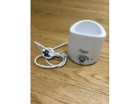 Tommee Tippee Bottle Warmer Brand New Without Box