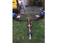 Recovery tow dolly