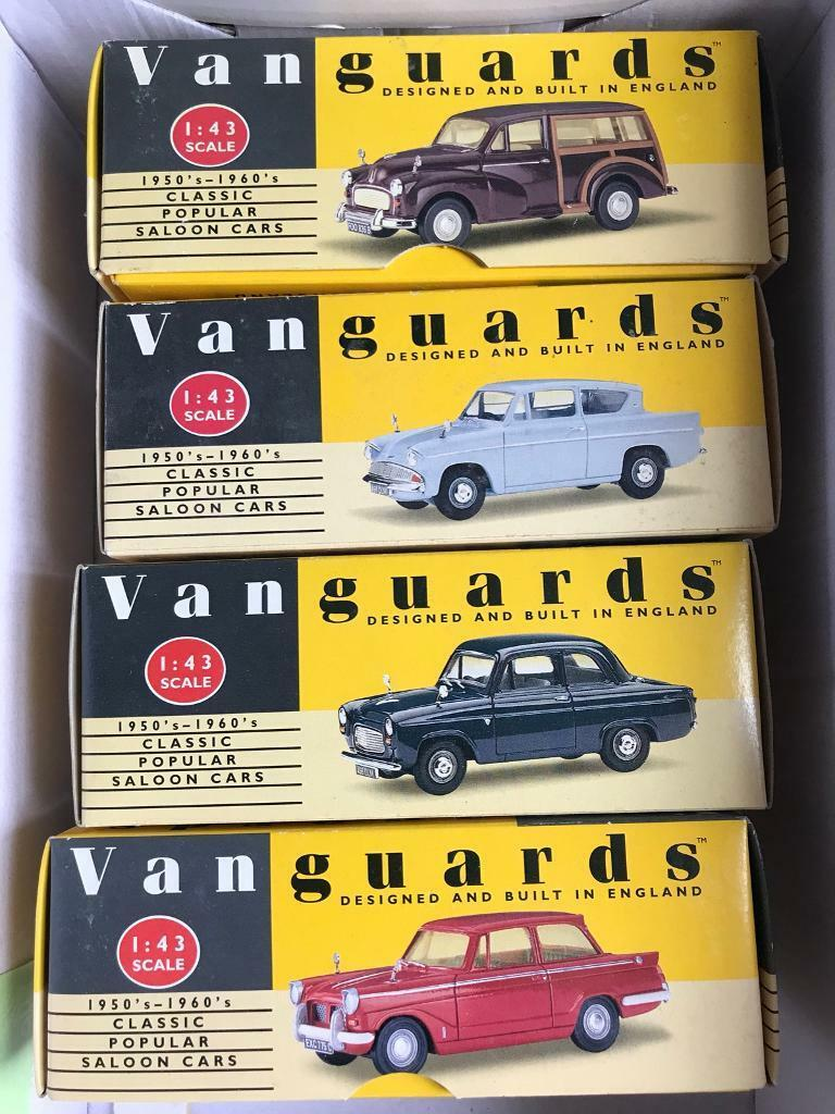 Vanguard Model Cars 1:43 scale Ford Morris Triump collection | in ...