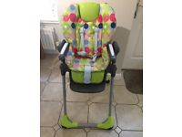 FOR SALE: Chicco High Chair £30