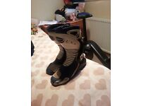 Motorcycle boots size 10 racing