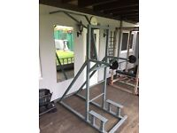Purpose Made Pull Up/Dip Bar Free-Standing Machine