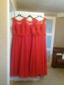 Bridesmaid/evening gowns