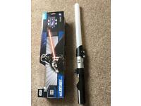 Wii Stars Wars Light Up Light Saber