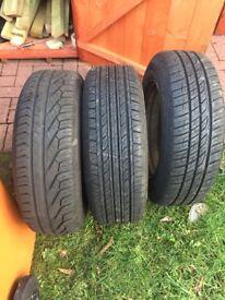 195/65/15 Van tyres