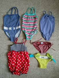 Girls swimsuits size 2