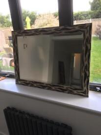 Animal print frame