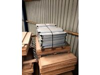 Heavy Duty Pallet Racking Steel Shelves Shelving Decking Boards 900mm or 750mm