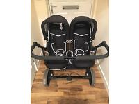 Freestyle twin double pram/buggy