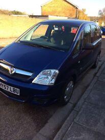 Vauxhall Meriva excellent condition
