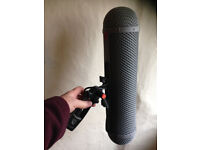 Rycote Windshield Kit: industry standard for professional recording in broadcast, radio, tv