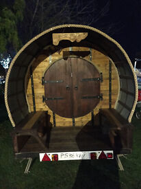 Unusual present shepherds hut gypsy wagon glamping childrens playhouse pod bandb garden room tent