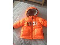 Baby orange DKNY jacket