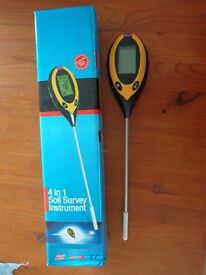 4 in 1 Soil Survey Instrument £9ono