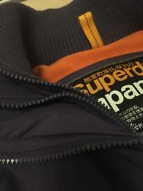 Women's superdry windcheater jacket purple size medium