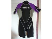 Ladies Solar Energy Titanium wetsuit size 8-10
