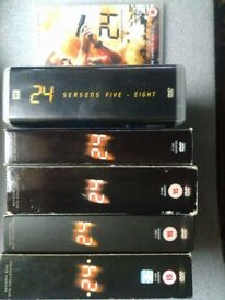 24 Season 1-8 plus Redemption DVD Collection