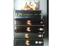 24 Season 1-8 plus Redemption DVD Collection