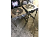 Cheshunt Hydroponics Store - used leaf trimming tables