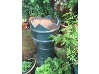 Reclaimed Victorian Chimney pot good garden ornament