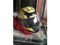 Motor bike helmet size xl