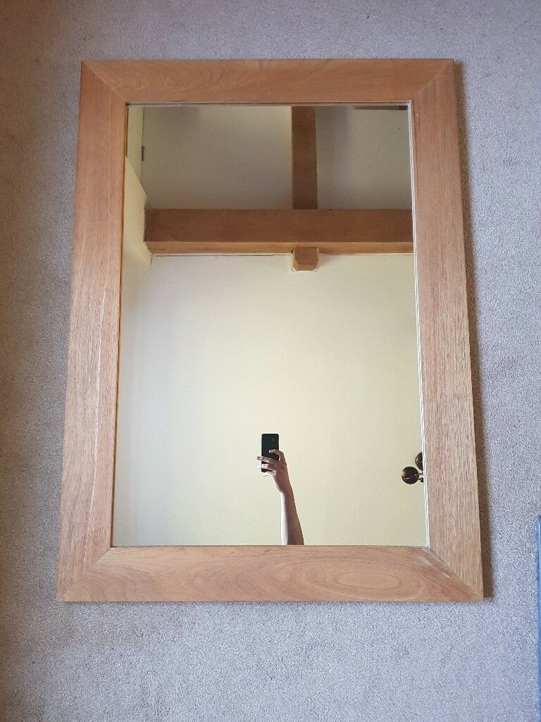 Solid Oak Framed Mirror 119cm x 79cm | in Crewkerne, Somerset | Gumtree